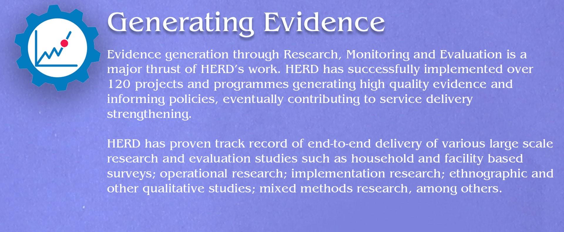 Generating Evidence